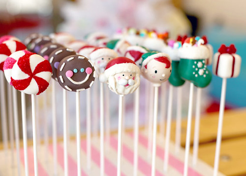 Holiday Cake Pops | by Bakerella