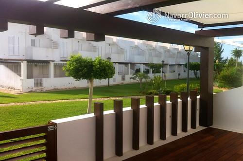 Reforma de terraza reforma de terraza estilo minimalista - Pergolas de lona para jardin ...