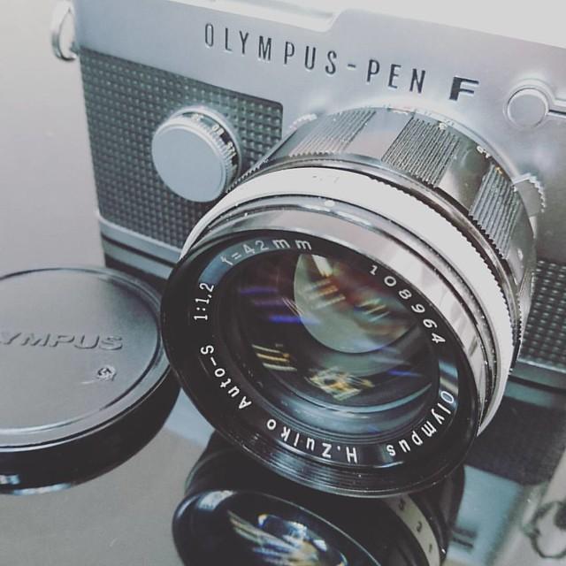 Olympus H.Zuiko Auto-S 42mm f1.2 半格最強鏡頭體驗