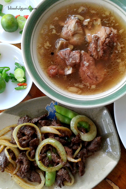 Baguio City Pigar Pigar Bulalo