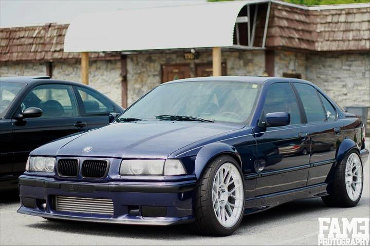 E36 Widebody Concave 18 Front 18x10 Quot Et25 Square With
