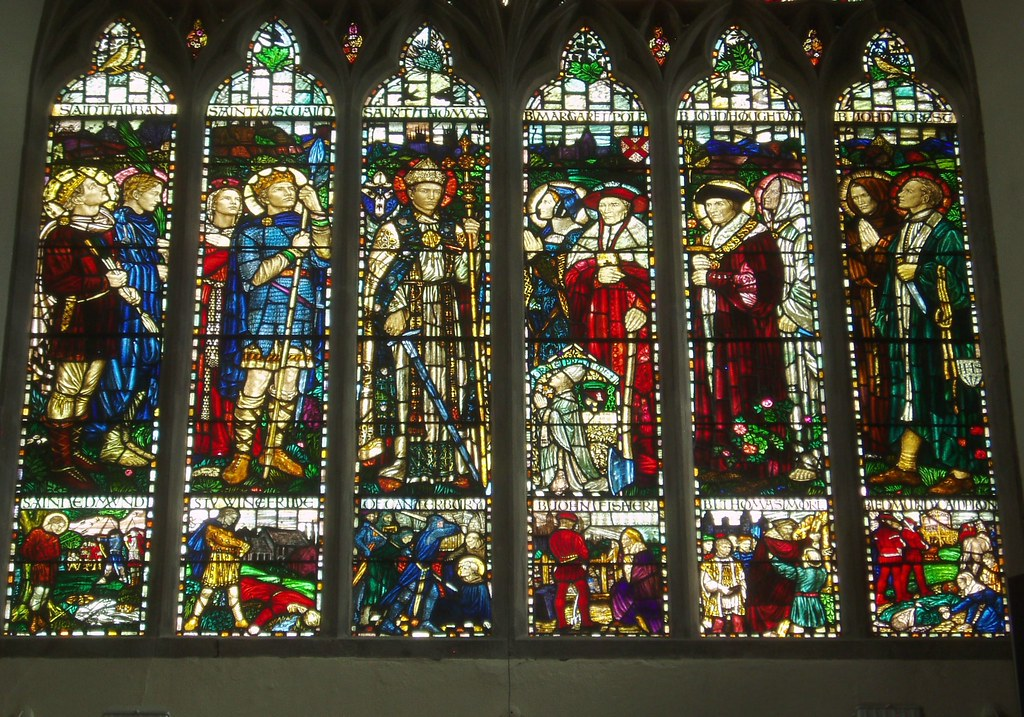 English Martyrs Shrewsbury Cathedral The West Window By