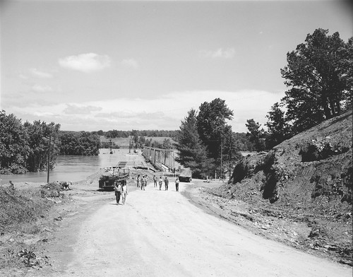 Bridge Reconstruction at Wingina | by The Library of Virginia