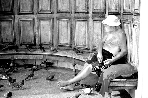 Pigeon fancier - Hyde Park London - Explored August 19 2012 #455 | by hethelred