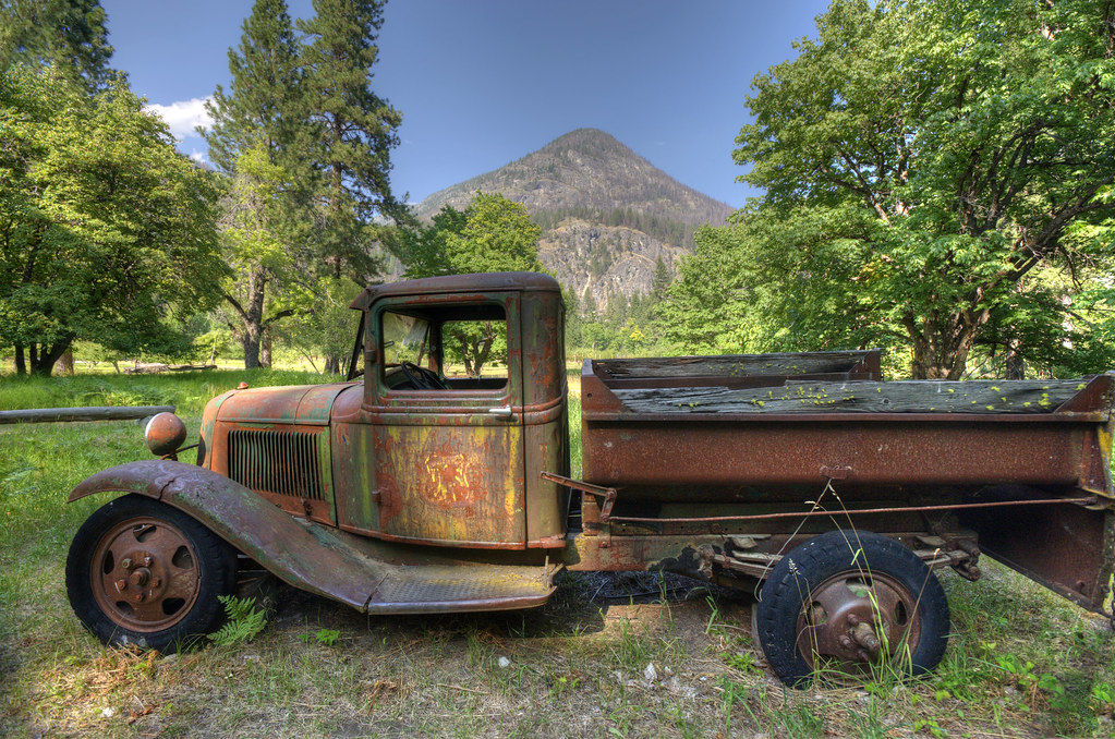 Retired U S Forest Service Truck This Old Ford Truck