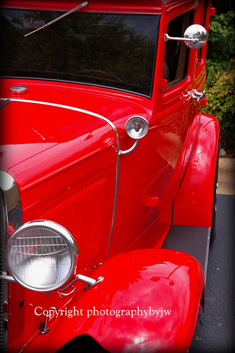1931 Ford Sedan in Cherry Red Classic Resto Rod | by Photographybyjw