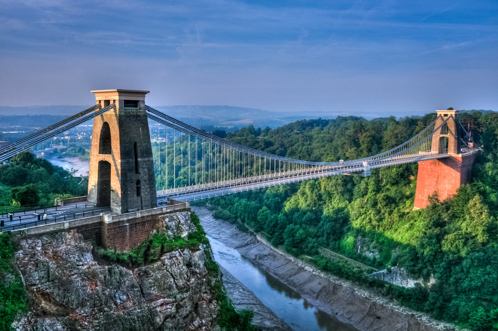 Things to do in Bristol , Cliftion suspension bridge