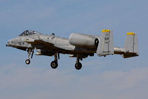 A-10 Thunderbolt II 81-0991/SP USA Air Force | by Jarco Hage