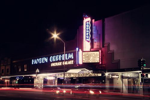 hayden orpheum picture palace the hayden orpheum at