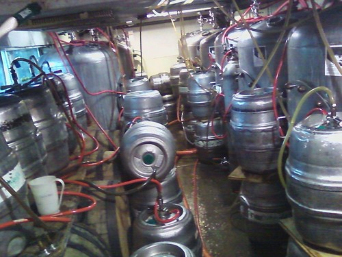 Brewpub cellar packed with our beer!!! | by JackieOsBrewery