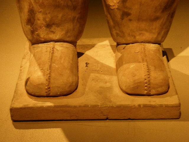 Terracotta warriors shoes