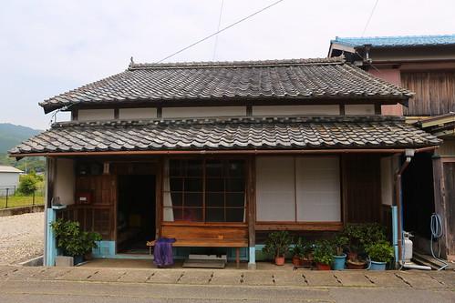 maison japonaise typique dans le village de kannoura shik flickr. Black Bedroom Furniture Sets. Home Design Ideas