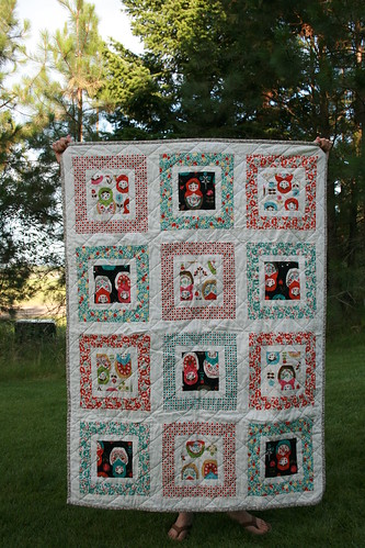 hello betty matryoshka | by Leigh - leedle deedle quilts