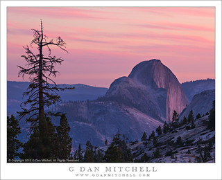 Half Dome, Dusk | by G Dan Mitchell