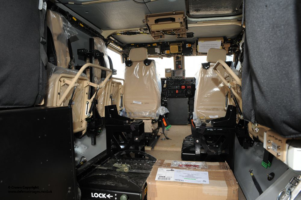 Interior of Foxhound Patrol Vehicle | Interior of the new ...