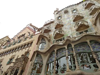 Cadafalch and Gaudi, Passeig de Gracia, Barcelona | by Sophie's World - Anne-Sophie Redisch