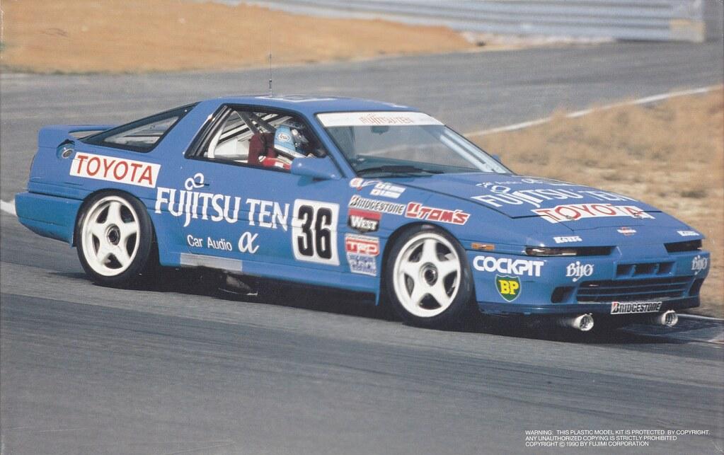 Ma70 Toyota Supra 3000 Gt Turbo A Fujitsu Ten Group A 1988