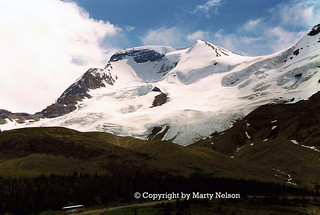 Columbia Icefields,1999, No07RT1, Jasper National Park, Alberta, Canada - © Copyright by Marty Nelson | by Marty Nelson Photography