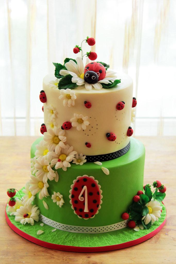 How To Make A Ladybug Cake With Icing