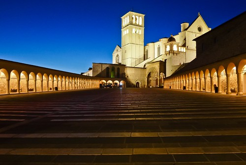 Basilica of San Francesco d'Assisi,  Assisi, Italy | by Frans.Sellies