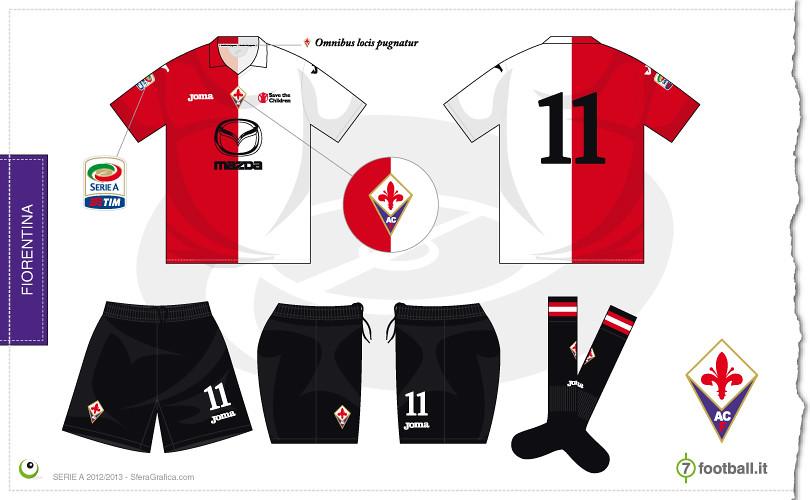 133a3350ff ... Fiorentina third kit 2012 2013