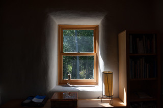 Straw Bale Window | by goingslowly