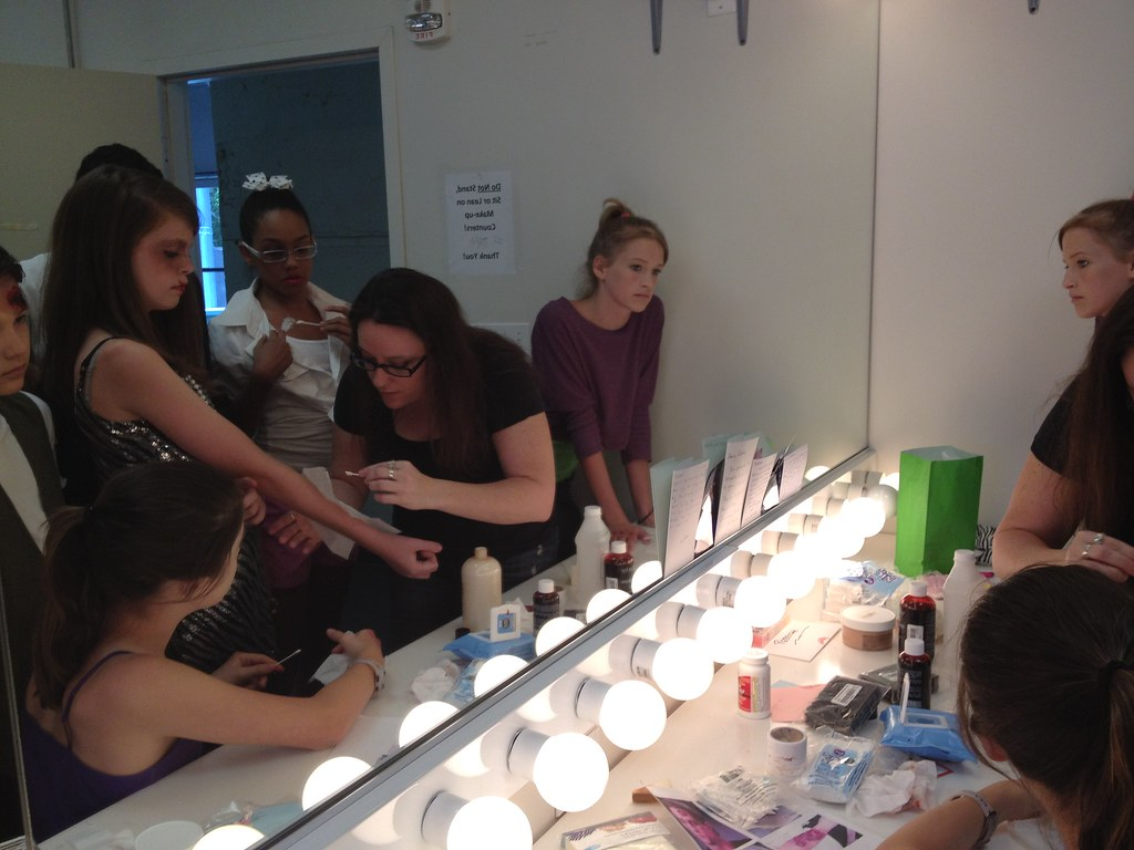 Yac middle school 2012 special fx makeup eva laporte for Laporte schools employment