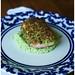 pistacho-encrusted salmon