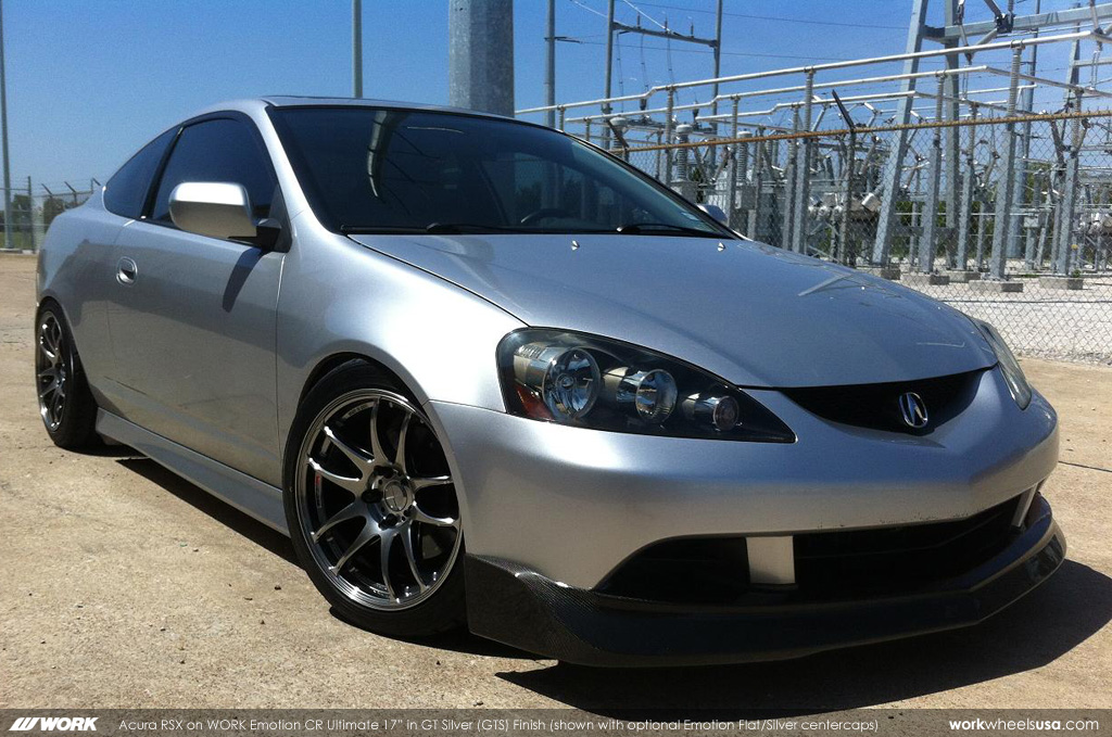 "Acura RSX on WORK Emotion CR Ultimate 17"" (GTS) 