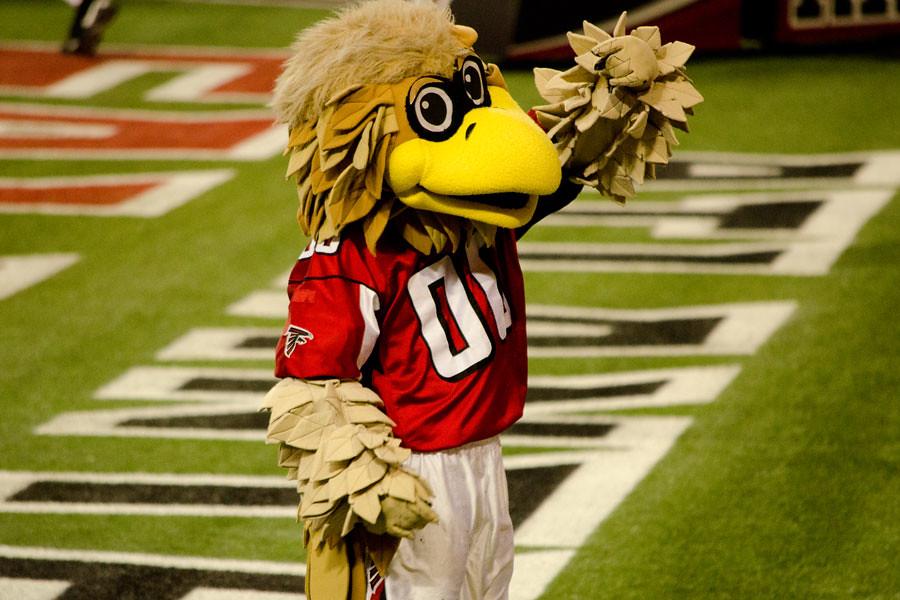 Atlanta Falcons Jobs >> Freddie Falcon | The Atlanta Falcons mascot Freddie Falcon w… | Flickr