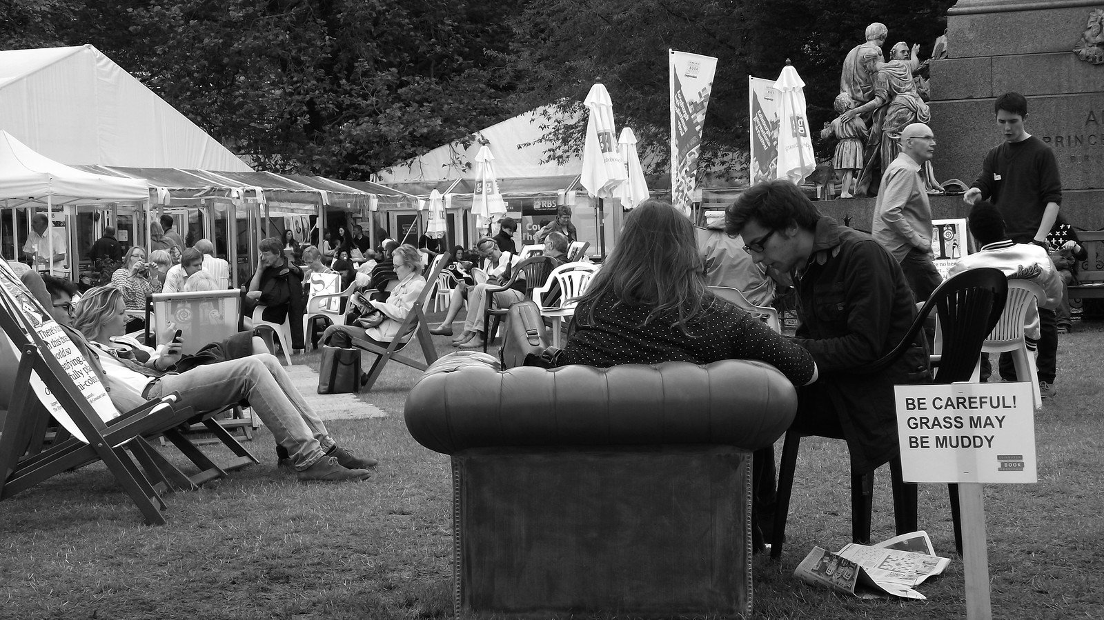 Edinburgh International Book Festival, Charlotte Square 01