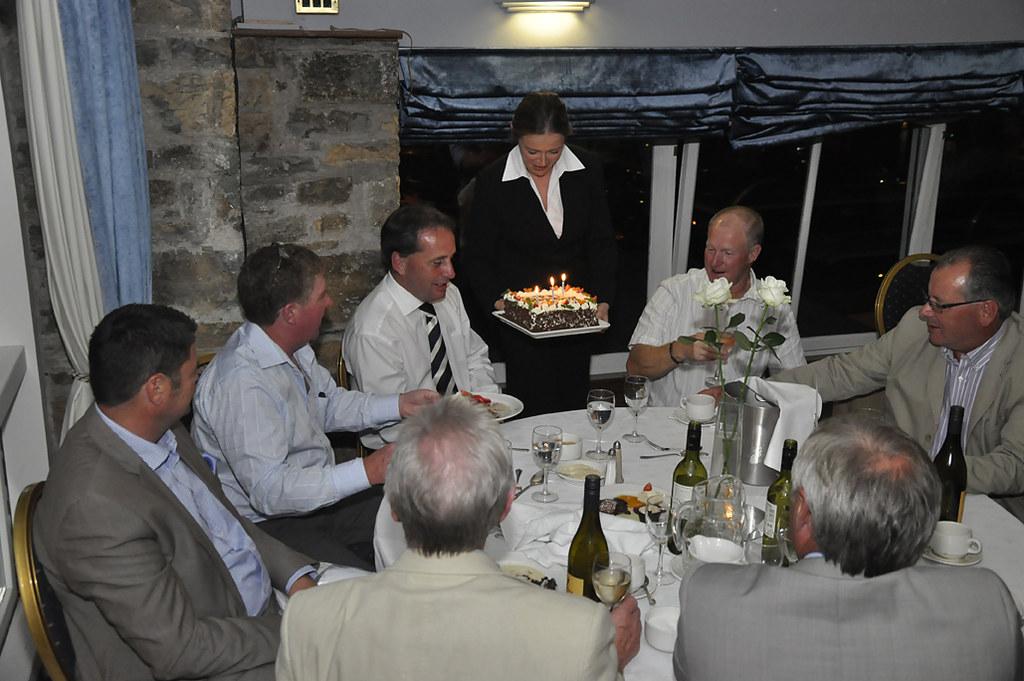 Golf Club Birthday Cake