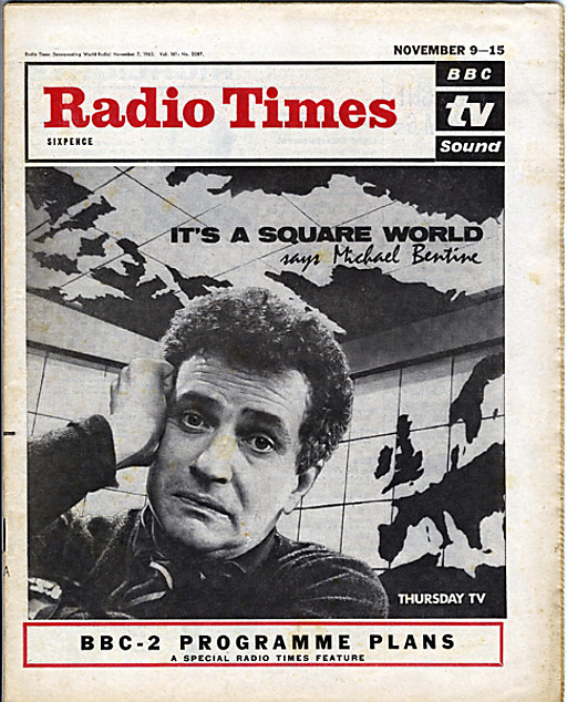 601109 radio times 9th november 1960 its a square w