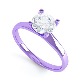 Purple Diamond Engagement Rings Meaning