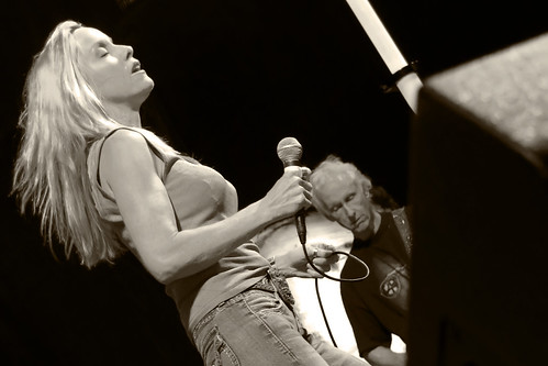 Cherie Currie and Robby Krieger | by Steve Mitchell Gallery