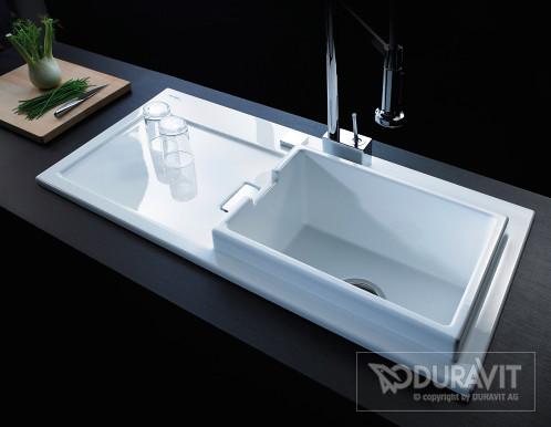 Starck K kitchen sink | With Starck K sinks Duravit introduc… | Flickr