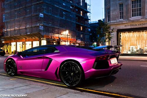 Night Life Lamborghini Aventador Lp760 4 Oakley Design
