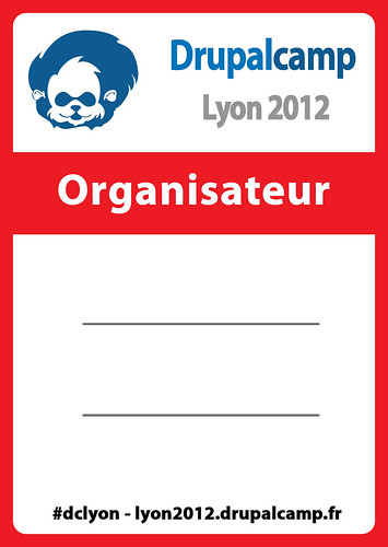 Badge Drupal Camp Lyon 2012 | by Emjy