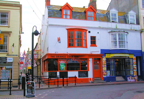 The Orange Cider Bar, Weymouth - Dorset. | by Jim Linwood