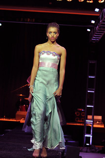 Modeling on the runway end of show fashion night out 5 | by houstonryan
