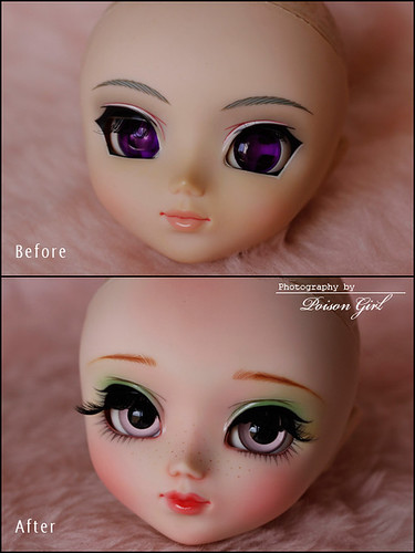 Before & After - Pullip Suigintou | by -Poison Girl-