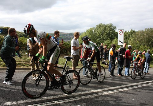 Tour of Britain 2012 Caerphilly Mountain: Gediminas Bagdonas, Kristian House and Peter Williams | by Sum_of_Marc