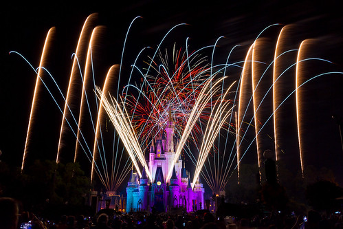 Magic Kingdom - Streamers of Light | by Jeff Krause Photography