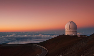 Observatory atop Mauna Kea at Sunset | by torode