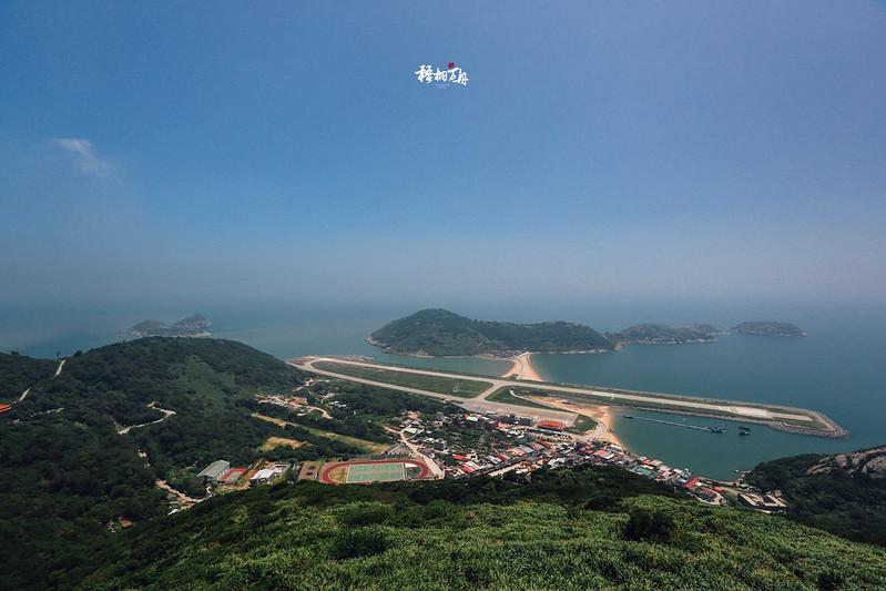 2|由北竿島上最高峰「壁山」俯瞰整個北竿島