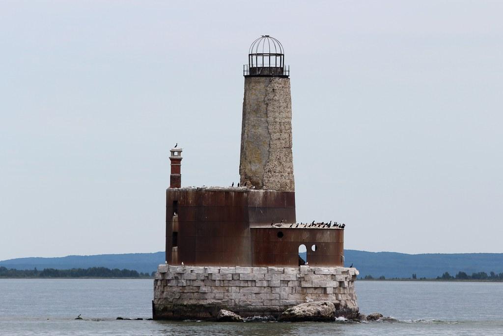 Waugoshance Shoal Lighthouse Historic Waugoshance Shoal