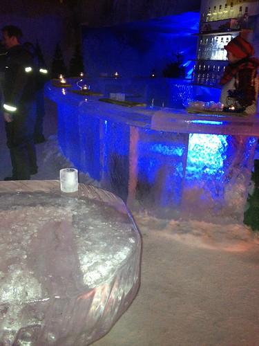 Ice Bar In The Ice Hotel In Winterland Helsinki David