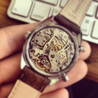 Hello history. The fantastic caliber 11 automatic chronograph. | by HODINKEE