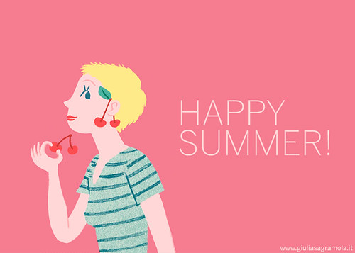 HAPPY SUMMER! / Cherry | by juliette la bête