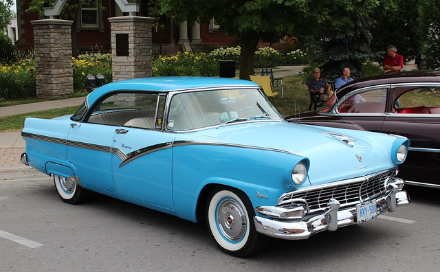 1956 ford fairlane 4 door hardtop flickr photo sharing
